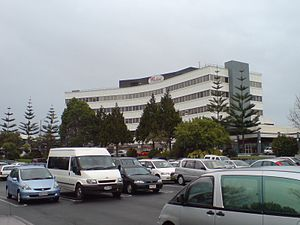 Westfield Manukau City - The office building part of the centre.