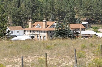 National Register of Historic Places listings in Weston County, Wyoming - Image: Weston County WY Cambria Casino