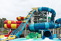 Wet'n'Wild Sydney, Tower 4- DoubleBOWLSeye, Riptide, Curler (22844257737).jpg