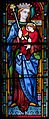Wexford Church of the Immaculate Conception South Aisle Window Crowned Madonna Detail 2010 09 29.jpg