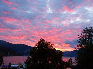 Kinsarvik - Summer Midnight at Kinsarvik
