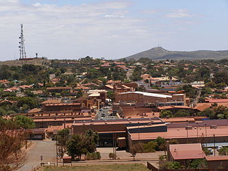 Whyalla Steelworks - The rooftops of Whyalla are often pink with dust from the Whyalla Steelworks