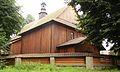 Wiśniowa - Kościół p. w. św. Marcina - ogrodzenie.jpg