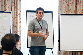 Wikimedia Hackathon Vienna 2017-05-19 Mentoring Program Introduction 034.jpg