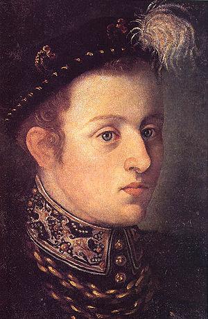 William of Rosenberg -  Youth Portrait