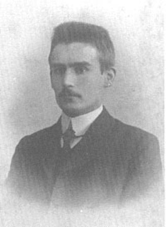 Willem Drees - Willem Drees in 1908.