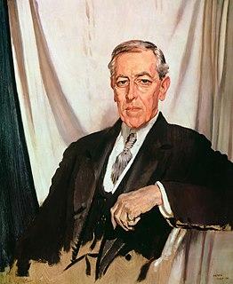Presidency of Woodrow Wilson