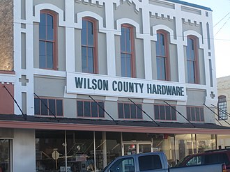 Wilson County, Texas - Image: Wilson County Hardware, Floresville, TX IMG 2666