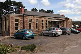 Monmouth Troy railway station - The former Monmouth Troy station building has been re-erected at Winchcombe railway station on the Gloucestershire Warwickshire Railway.