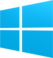 A Windows 8, Windows 8.1 és Windows 10 logója