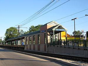 Windsor Park (Metra station) - Windsor Park Metra Station