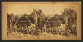 Winnebagos at Ft. Snelling, 1863, from Robert N. Dennis collection of stereoscopic views.png