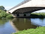 Winthorpe Bridge carrying Bypass over River Trent