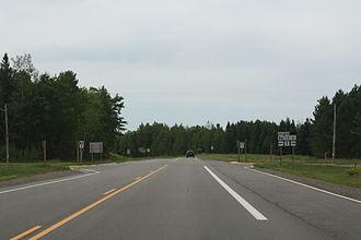Wisconsin Highway 86 - West terminus