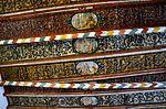 Wismar, Heiligen-Geist Details der Deckenmalerei.JPG