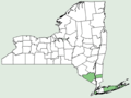 Wolffia brasiliensis NY-dist-map.png