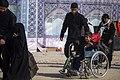 Women on the Arba'een Walk-Mehran city-Iran زنان در پیاده روی اربعین در مرز مهران- عکاسی خبری 04.jpg