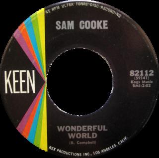Wonderful World (Sam Cooke song) 1960 single by Sam Cooke