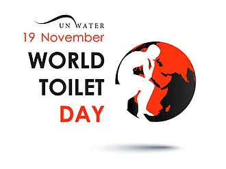 Human right to water and sanitation - Image: World Toilet Day (WTD) logo