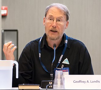 Geoffrey A. Landis - Geoffrey Landis at a science fiction convention in Helsinki, 2017