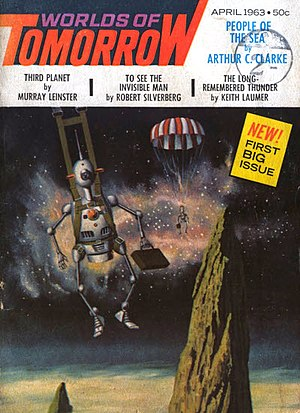 Worlds of Tomorrow (magazine) - The first issue of Worlds of Tomorrow was cover-dated April 1963