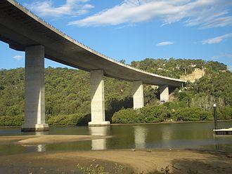Woronora River - Image: Woronora Bridge 2