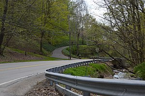 Lincoln, Pennsylvania - Wylie Run and Lovedale Road