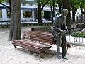 Wynton Marsalisen eskultura Gasteizko Florida parkean.jpg