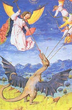 Guivre - Vouivre. Liber Floridus, 1448.