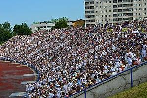 Kalevi Keskstaadion - Image: XIX üldtantsupidu 02