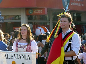 German Argentine - German Argentines during the Immigrant's Festival in Oberá, Misiones.
