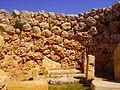 Xaghra Ggantija-Tempel Innen 4.JPG