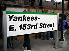 Yankees east 153rd station sign.jpg