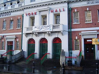 Morrissey - The York Hall boxing venue, which Morrissey frequented in the mid-1990s