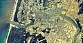 Yurihonjo city center area Aerial photograph.1976.jpg