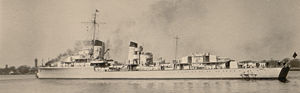 German destroyer Z3 Max Schultz - Image: Z 3 Max Schultz