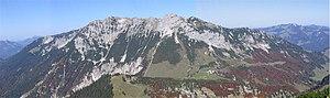 Kaiser Mountains - The Zahmer Kaiser seen from Stripsenkopf