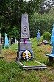 Zalistsi Turiiskyi Volynska-grave of soviet warrior Bakunov-1.jpg
