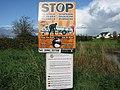 Zebra mussel warning - geograph.org.uk - 1556305.jpg