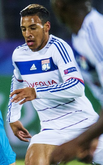 Corentin Tolisso - Tolisso playing for Lyon in October 2015