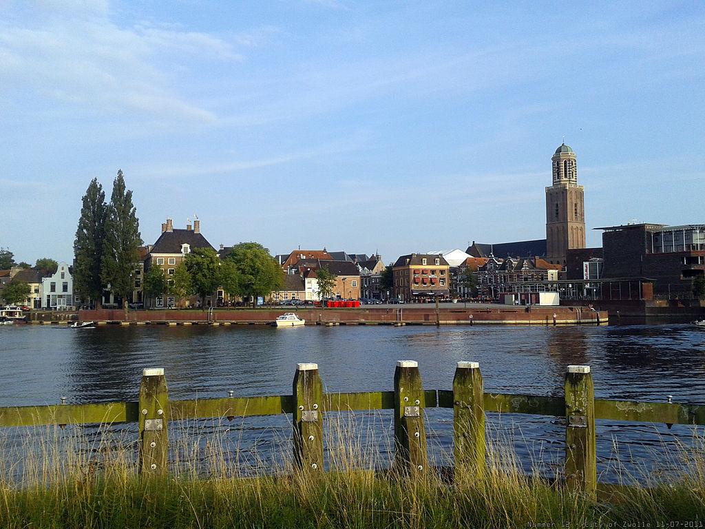 Zicht op Zwolle Centrum