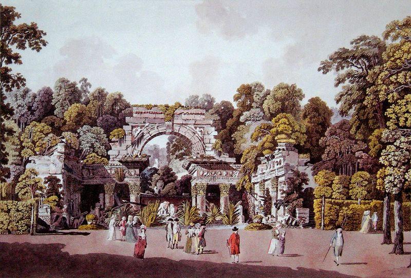 Schlosspark Schönbrunn - Römische Ruine / Quelle: Wikipedia (gemeinfrei)