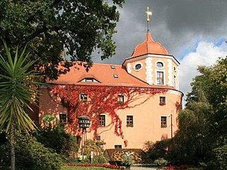 Zittau - Flower Clock and Fleischerhaus