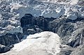 Zoomed in detail of glacier melting down Mont Mine near Evolene 2012, see also 77525895 with more details - panoramio.jpg