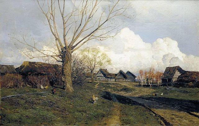 «Саввинская слобода под Звенигородом», 1884