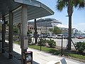 """""""Carnival Legend"""" cruise ship seen from Tampa, Florida. Streetcar stop.jpg"""