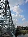 """Das Blaue Wunder"", the Loschwitzer Brücke over the Elbe, south of Dresden - panoramio (1).jpg"
