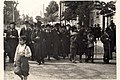 """Sanok, Poland, 1930's Jews from the city accompanying Elazar Shapir"".jpg"