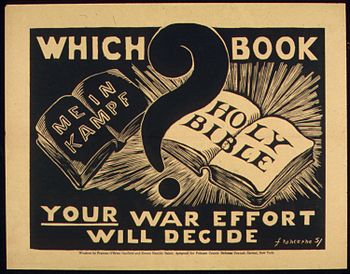 """WHICH BOOK, HOLY BIBLE"" - NARA - 516150"