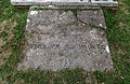 'Berfrestone' (DB) St Nicholas churchyard table tomb entrance Barfrestone Kent England.jpg